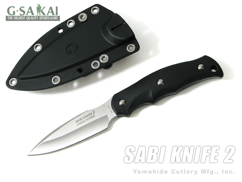 Gサカイ 11494 サビ ナイフ2 (サバキ3寸) ブラック/フック無 釣りに! G.Sakai SABI KNIFE2