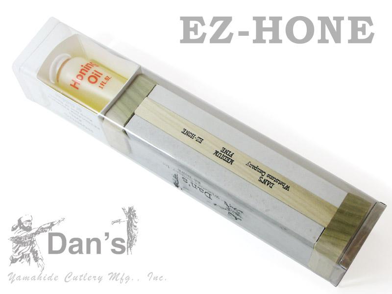 DAN'S/ダンズ EZH-6MF-O アーカンサス天然砥石 EZ-HONE 砥石2本 オイルセット