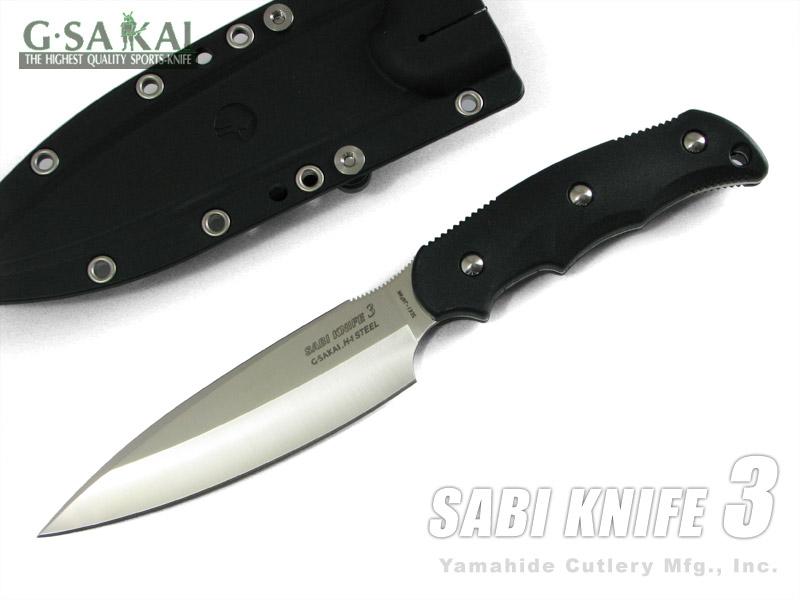 Gサカイ 11498 サビ ナイフ3 ブラック/フック無し 釣りに! G.Sakai SABI KNIFE3