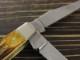ケース 65305 ミニトラッパー 6.5ボーンスタッグ スリップジョイント 折り畳みナイフ,Case Mini Trapper 6.5 BoneStag