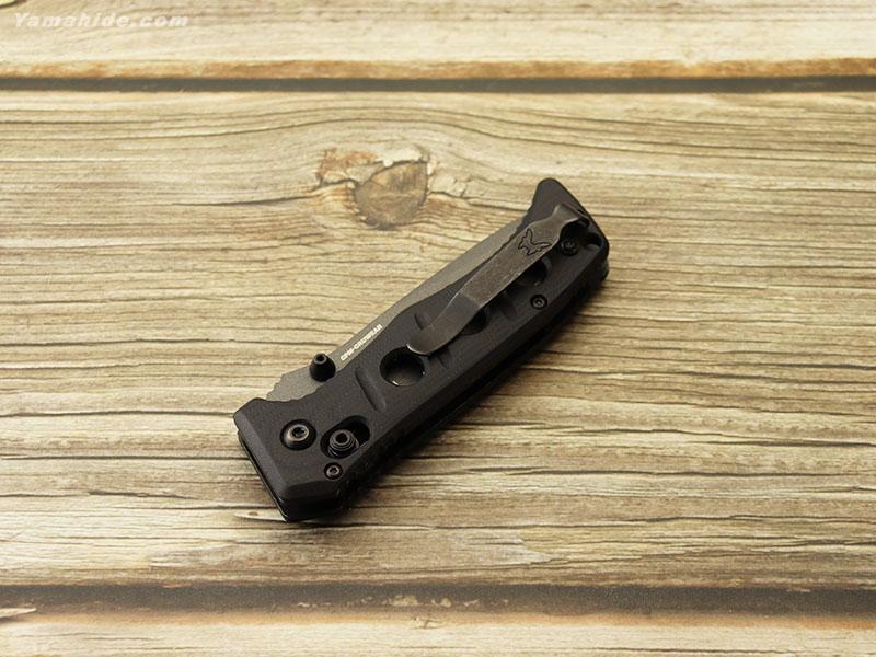 ベンチメイド 273GY-1 ミニ アダマス グレイ-ブラック 折り畳みナイフ ,BENCHMADE Mini Adamas GRAY coating