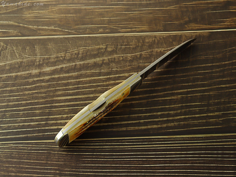 ケース 65312 トライバルロック 6.5 ボーンスタッグ ロックバック 折り畳みナイフ,Case 6.5 BoneStag Tribal Lock