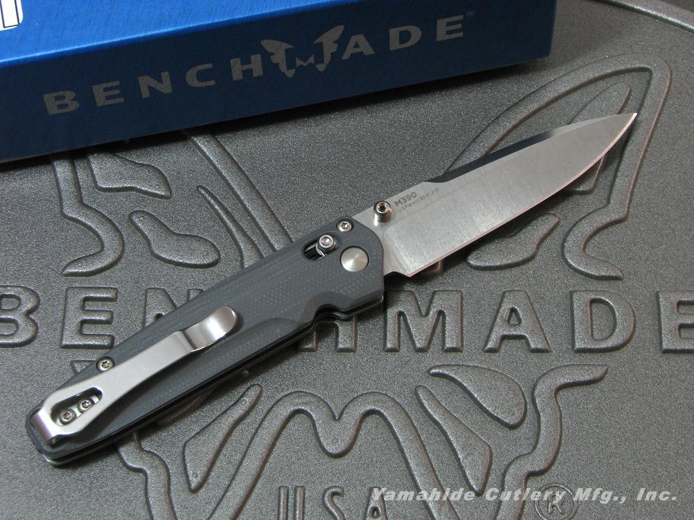 ベンチメイド 485 ヴァレット シルバー直刃 ,折り畳みナイフ ,BENCHMADE Valet