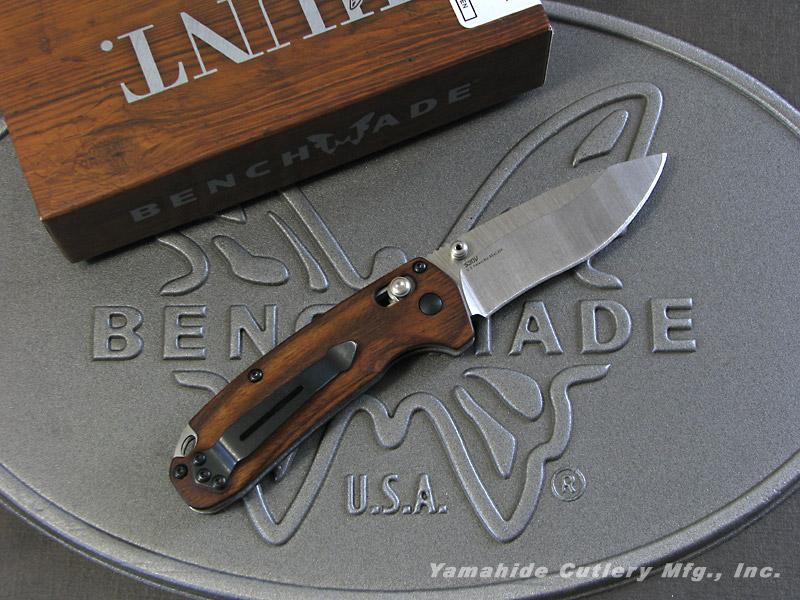 ベンチメイド ハント 15031-2 ノースフォーク アクシス フォルダー /ウッド ,折り畳みナイフ ,BENCHMADE North Fork