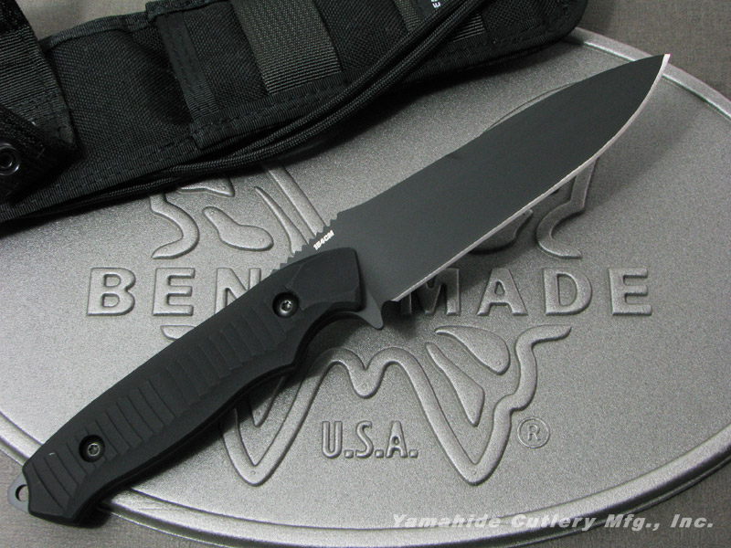 ベンチメイド 140BK ニムラバス 154CMブレード/直刃 ,シースナイフ ,BENCHMADE Nimravus