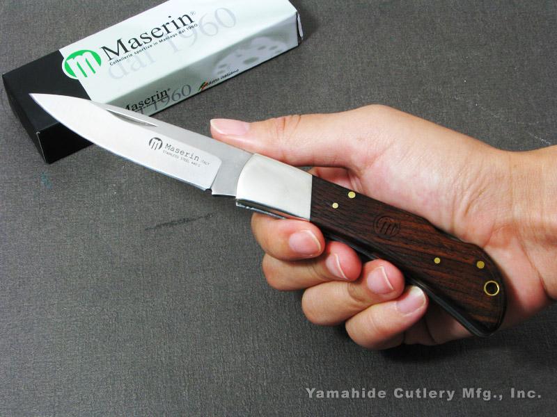 マセリン 126/1LGP カッツア/ココボロ 折り畳みナイフ,Maserin Caccia