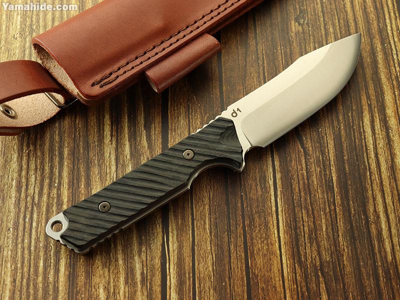 DEW ブランド d1 黒 ブッシュクラフトナイフ,DEW HARA KNIFE