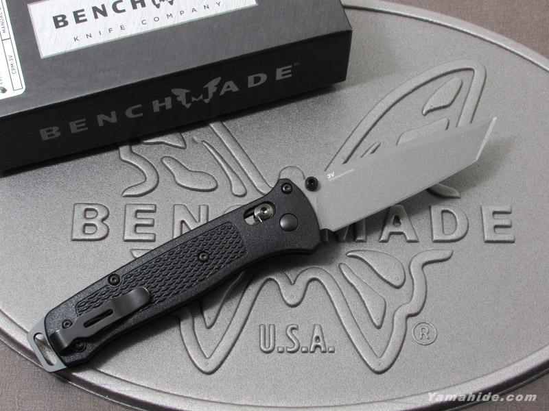 ベンチメイド 537GY ベイルアウト 直刃 折り畳みナイフ ,BENCHMADE BAILOUT folding knife