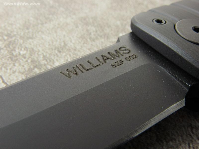 ウィリアムズ B.D. SZF 002 ショウブヅクリ フォルダー 折り畳みナイフ,Shobu Zukuri Folder WILLIAMS BLADE DESIGN