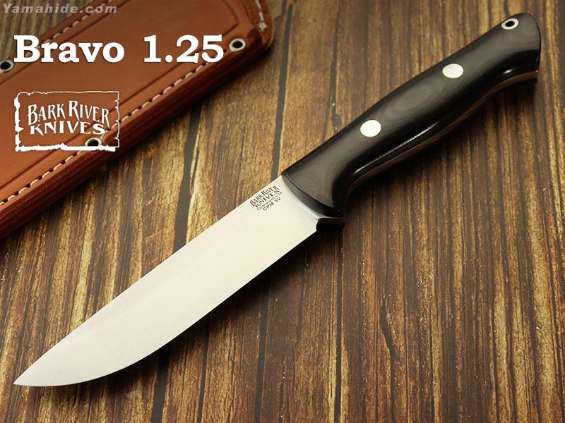 バークリバー BA07129MBC ブラボー1.25 LT 3V ブラックキャンバスマイカルタ ランプレス,Bark River Bravo Black Canvas Micarta