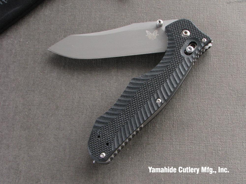ベンチメイド 810 コンテゴ シルバー直刃 ,折り畳みナイフ ,BENCHMADE Contego
