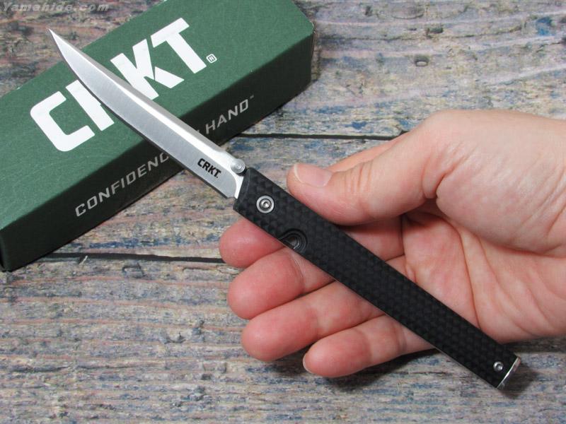 CRKT 7096 CEO 折り畳みナイフ,コロンビアリバーナイフ&ツール