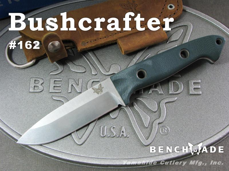 ベンチメイド 162 ブッシュクラフター/グリーンG10 ,シースナイフ ,BENCHMADE Bushcrafter