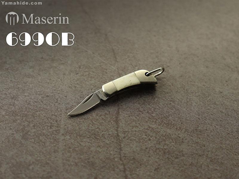 .訳有】マセリン 699OB スーパーミニナイフ ボーン/Maserin