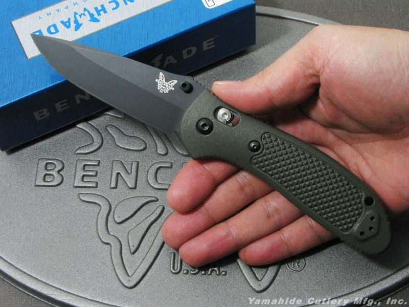 ベンチメイド 551BKOD-S30V グリップティリアン ブラック直刃,オリーブドラブハンドル ,折り畳みナイフ ,BENCHMADE Griptilian