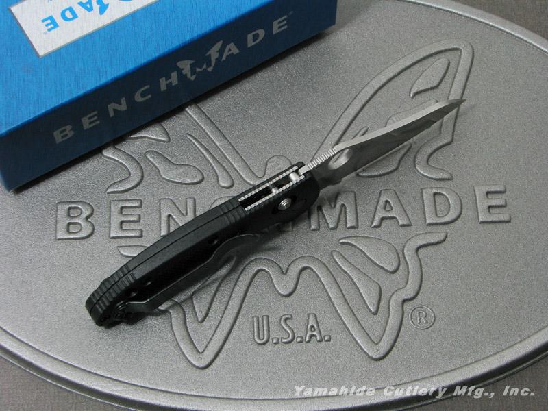 ベンチメイド 555-S30V ミニ・グリップティリアン シルバー直刃,サムホール ,折り畳みナイフ ,BENCHMADE Mini Griptilian