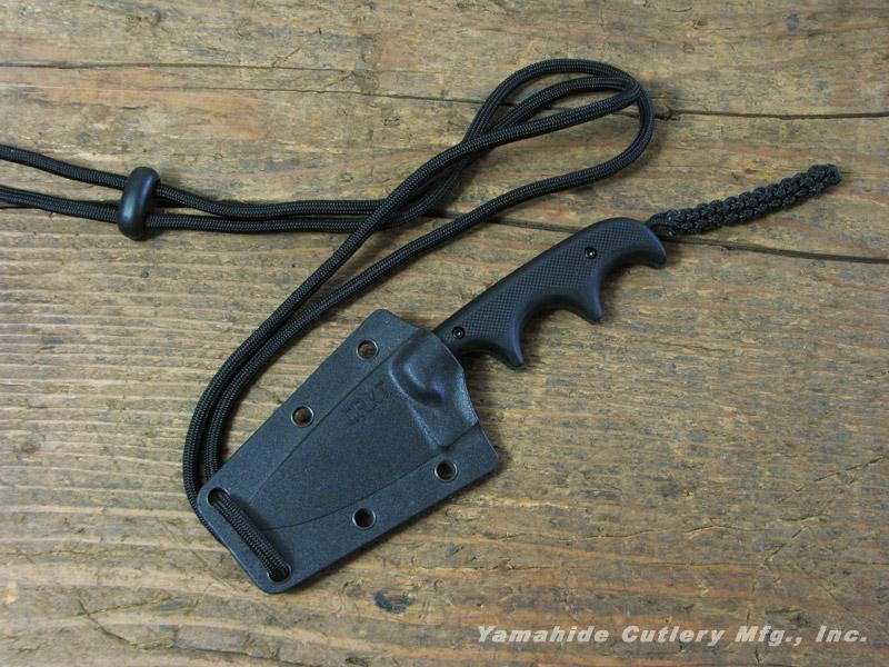 CRKT 2384K ミニマリスト ブラック/ドロップポイント,コロンビアリバーナイフ&ツール ネックナイフ