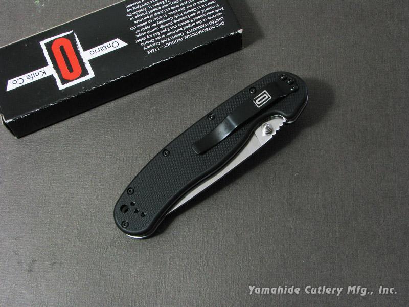 オンタリオ 8848 RAT I SP ラット1(ラージ) フォールディングナイフ