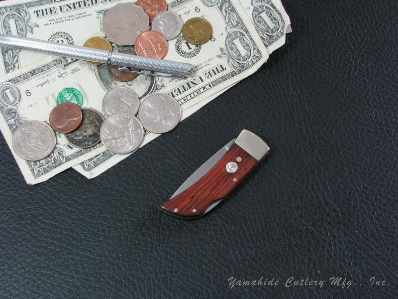 ボーカー 111004 ポケット/ローズウッド フォールディングナイフ ,BOKER Pocket Rosewood