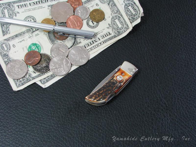 ボーカー 111006 ポケット/スタッグ フォールディングナイフ ,BOKER Pocket Stag