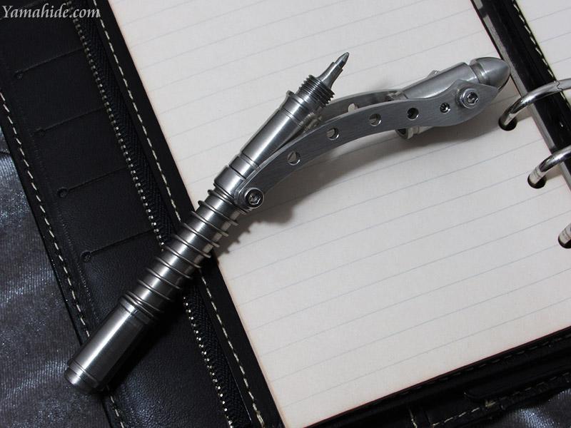 中山 英俊 作 スチームパンク ボールペン キャノン,Hidetoshi Nakayama Cannon Ballpoint Pen Steampunk