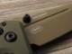ベンチメイド 273FE-2 ミニ アダマス アース-OD 折り畳みナイフ ,BENCHMADE Mini Adamas Flat earth coating