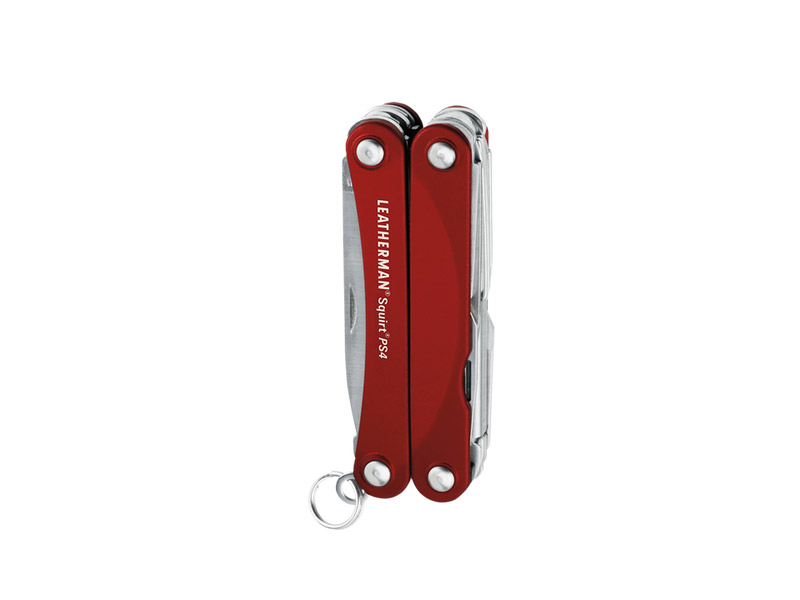 レザーマン ES4-RD スクォート PS4 レッド ツールナイフ