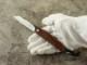 松野 寛生 作 F04 フリクション フォルダー 折り畳みナイフ,Kansei Matsuno Custom Knife