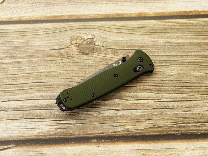 ベンチメイド 537SGY-1 ベイルアウト 直波コンビ刃 折り畳みナイフ ,BENCHMADE BAILOUT folding knife