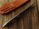 バークリバー BA05120MGC シスル A2 グリーンキャンバスマイカルタ シースナイフ,Bark River Thistle Green Canvas Micarta