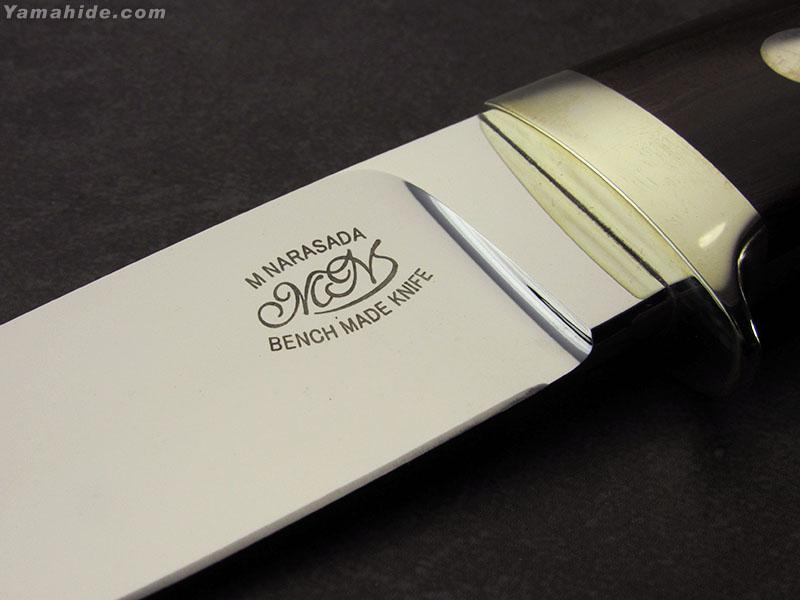 """委託】奈良定 守 作 K050A ドロップハンター 3.5"""" ATS-34 ,Mamoru Narasada Custom knife [セカンド品]"""