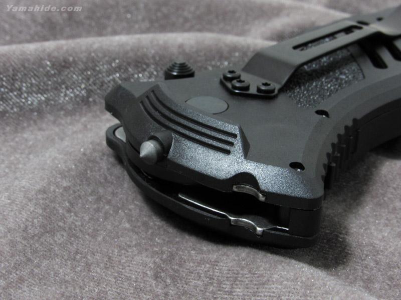 ブラックホーク 15M111BK CQD マークI タイプE 波刃付 タクティカルナイフ,Blackhawk BB15M111BK MOD マスターオブディフェンス