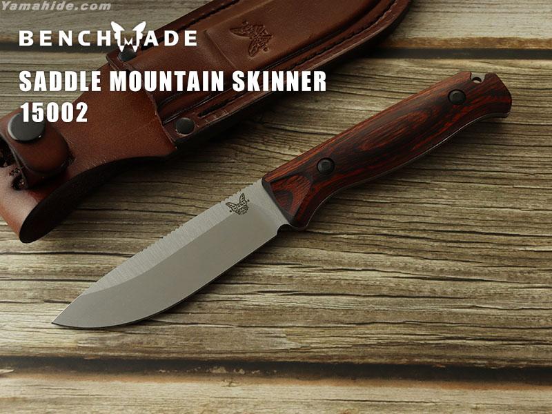 ベンチメイド 15002 サドル マウンテン スキナー ウッド ,シースナイフ ,BENCHMADE Saddle Mountain Skinner