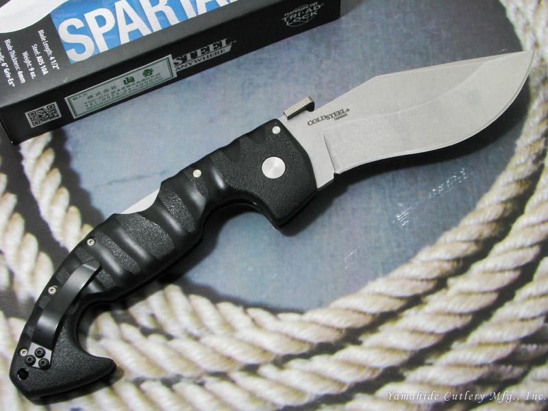 コールドスチール 21ST スパルタン AUS10A ,折り畳みナイフ,COLD STEEL Spartan