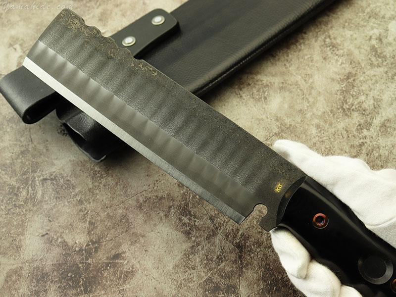 浦邊 謙三 作 1051 タクティカルタイプ ナタ, Kenzo Urabe Custom Knife