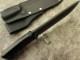 浦邊 謙三 作 1052 ドロップポイント セイバーグラインド ロールドエッヂ, Kenzo Urabe Custom Knife