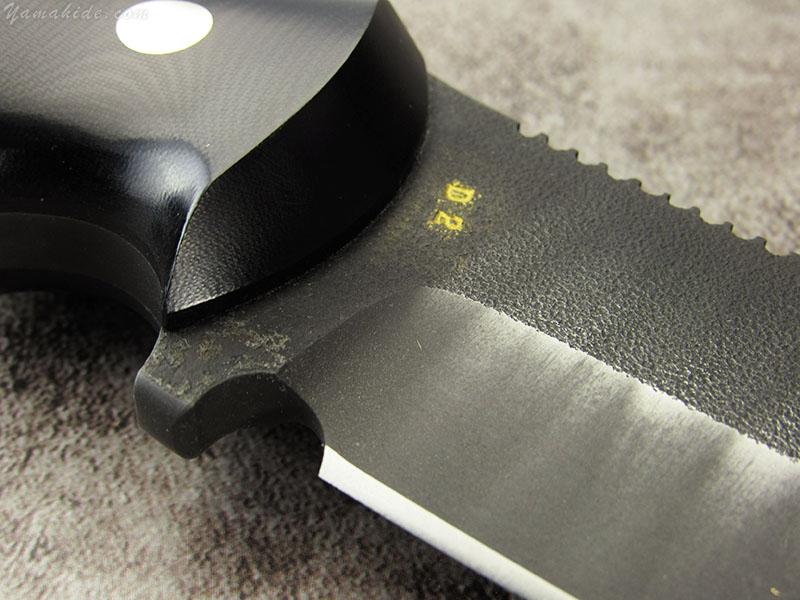 浦邊 謙三 作 1054 ドロップポイント セイバーグラインド インプローブド ハンドル, Kenzo Urabe Custom Knife
