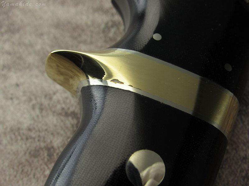 浦邊 謙三 作 1055 ウィルダネスブレード ニューヨークスペシャルハンドル サブヒルト, Kenzo Urabe Custom Knife