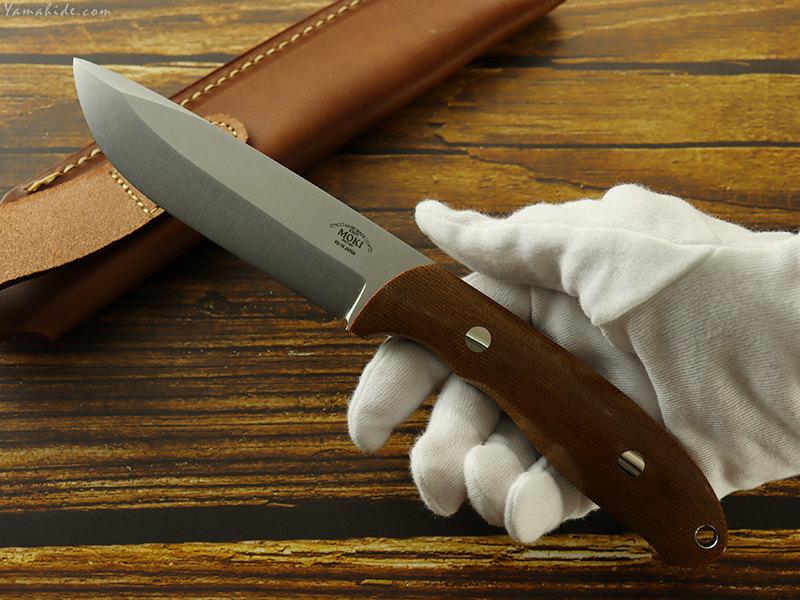 モキナイフ  MK-2020NBCM/CO  Berg(バーグ) コンベックス ブラウン ブッシュクラフトナイフ ,Moki Knife