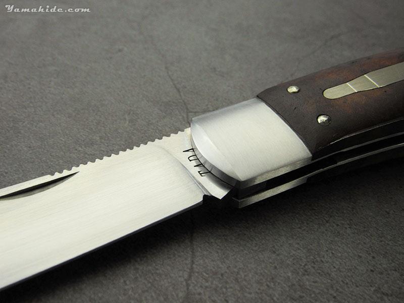 多田宗平 作 レミントン R1306 アイアンウッド 折り畳みナイフ ,Souhei Tada Custom Knife
