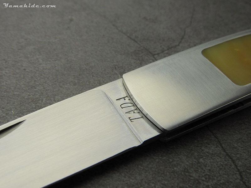 多田宗平 作 ロンレイク テールロック パール 折り畳みナイフ ,Souhei Tada Custom Knife