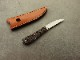 戸崎茂 作 デスクナイフ TB トリビュート シースナイフ,Shigeru Tozaki Desk Knife TB Tribute custom knife