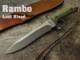 ランボー RB9411 ラストブラッド ナイフ RAMBO Last Blood Heartstopper Sheath knife