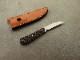 戸崎茂 作 デスクナイフ ver.2 TB トリビュート シースナイフ,Shigeru Tozaki Desk Knife TB Tribute custom knife