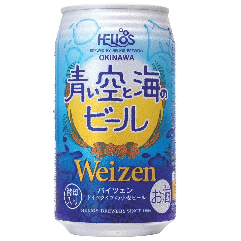 【沖縄産!クラフトビール!】 青い空と海のビール (缶) 5% 350ml