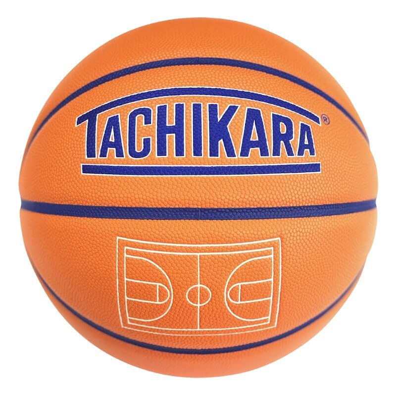 TACHIKARA BASKETBALL SP21 WORLD COURT SB7-246 Orange / Blue / White タチカラ バスケットボール 7号 ワールドコード
