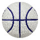 TACHIKARA BASKETBALL SP21  WHITE HANDS -DISTRICT-WHITE SB7-255 White / Purple / Orange タチカラ バスケットボール 7号 ホワイトハンズ  ホワイト