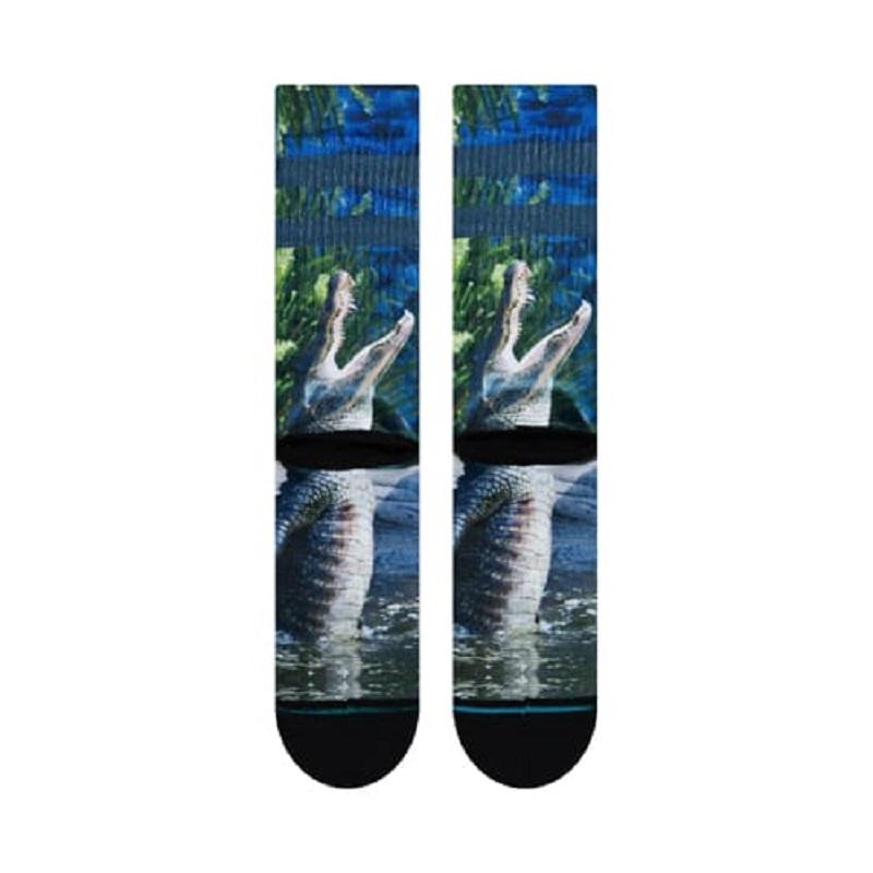 【21FAモデル】【スタンスソックス】【アニマルソックス】STANCE 21FA スタンス ファッション アルバータ  ALBERTA BLUE M556A19ALB-BLU メンズアパレル ブルー ライフスタイル