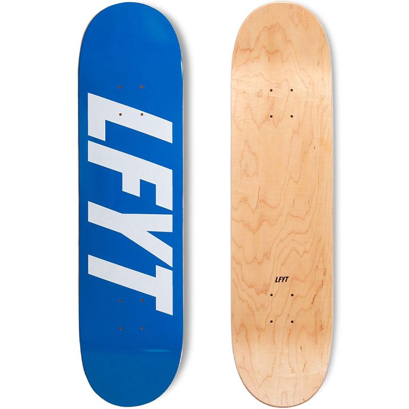【21年限定モデル】【エルエフワイティー/NYC】【ウッド製8インチデッキ】Lafayette 21FA.10/9発売 LFYTエルエフワイティー ロゴ スケート デッキ LFYT LOGO SKATE DECK 8inch ROYAL LE212303-ROY