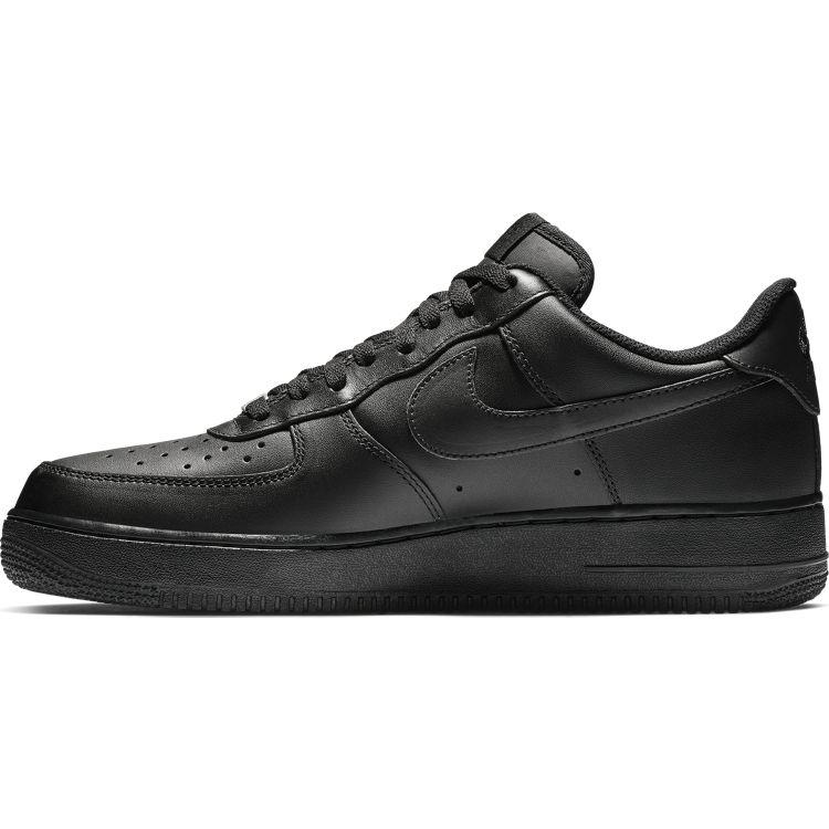 【スタンダード】【ローテクスニーカー】【AF1】Nike  AIR FORCE 1 '07 LE ナイキ エア フォース 1 '07 CW2288-001 BLACK/BLACK ブラック/ブラック